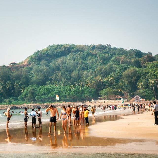 """Baga Beach, North Goa, India"" stock image"