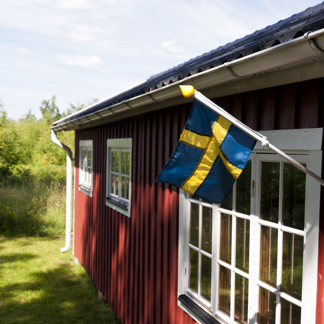 """""""House in Sweden"""" stock image"""