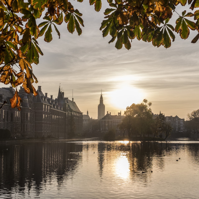 """Parliament houses The Hague"" stock image"