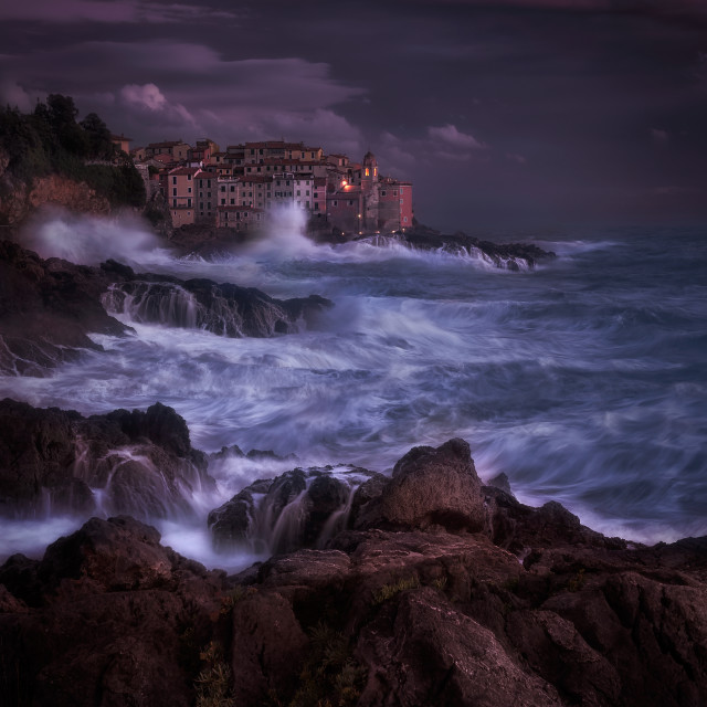 """Tellaro and its magic"" stock image"