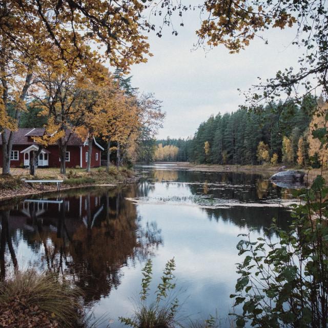 """Skärsågen"" stock image"