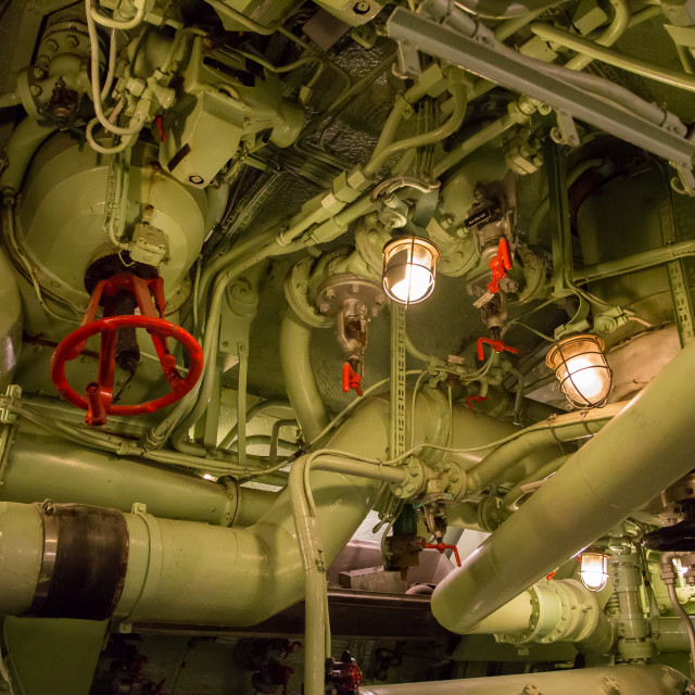 """Submarine 4"" stock image"