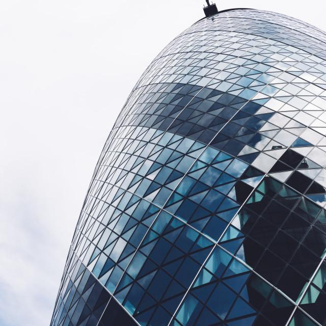 """Gherkin Tower"" stock image"