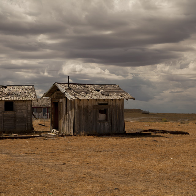 """""""Cisco Ghost Town"""" stock image"""
