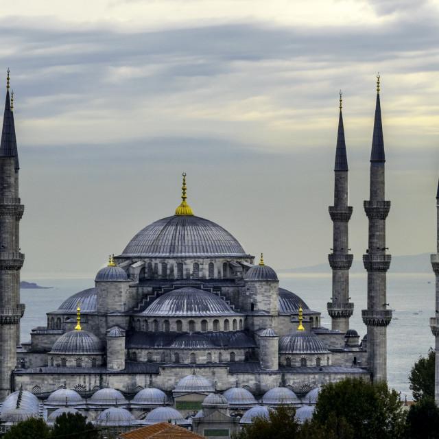 """sultanahmet blue mosque istanbul"" stock image"
