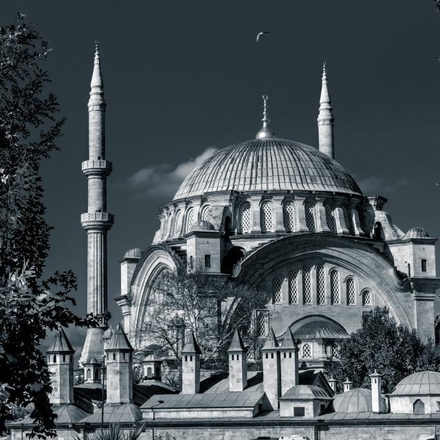 """atik ali pasha mosque"" stock image"