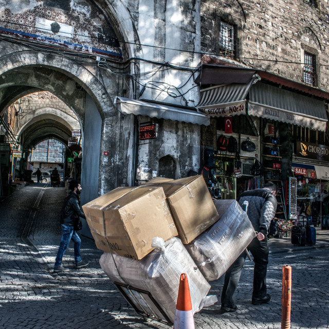 """""""ISTANBUL OLD CITY"""" stock image"""
