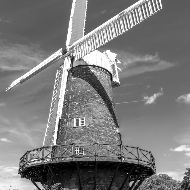 """Nottingham Windmill"" stock image"