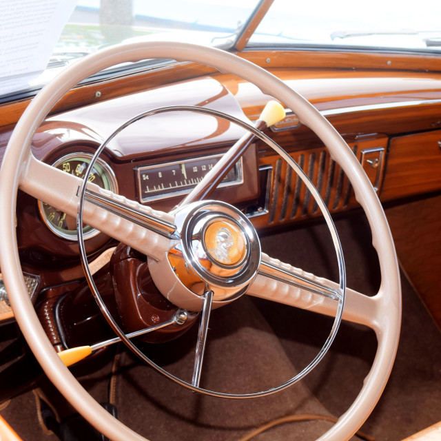 """DeSoto Interior"" stock image"