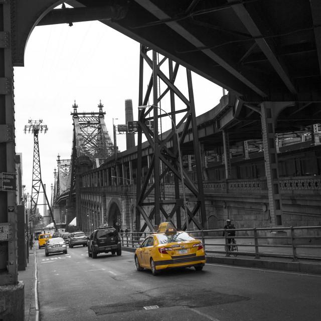 """Queensborough Bridge, New York"" stock image"