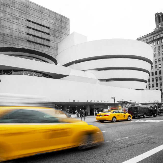 """""""Guggenheim Museum New York"""" stock image"""