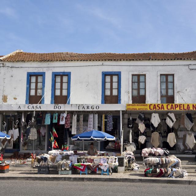 """""""Artisan Shops"""" stock image"""