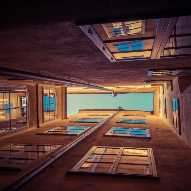 """Looking Up in Gamla Stan Stockholm"" stock image"