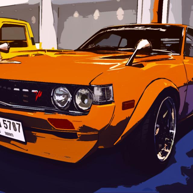 """Mustang-look"" stock image"