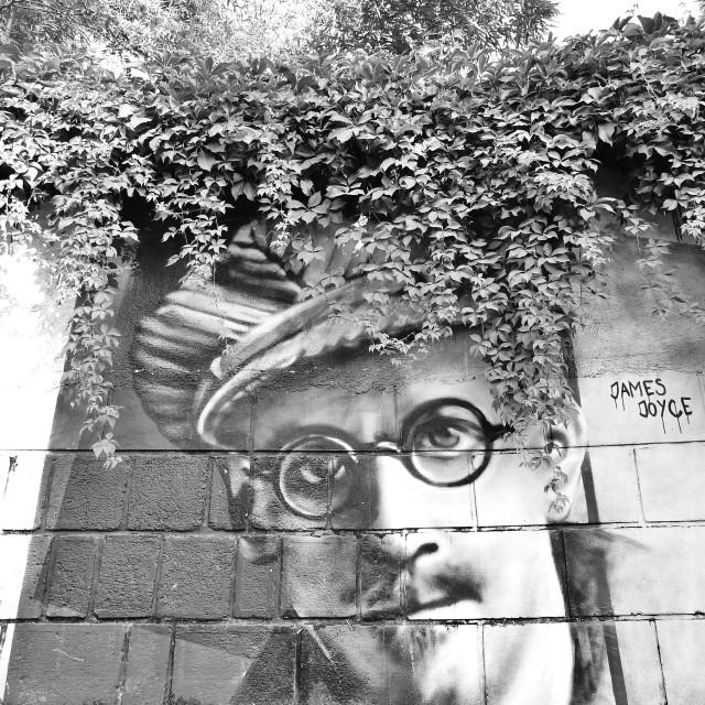 """James Joyce"" stock image"