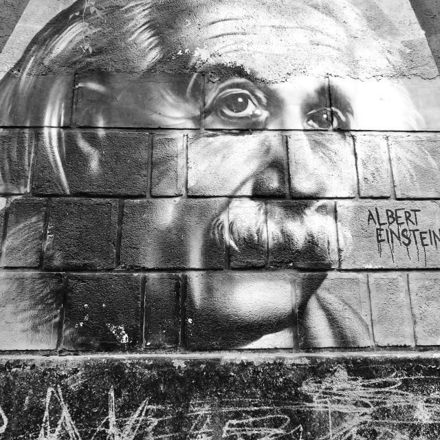 """Albert Einstein"" stock image"