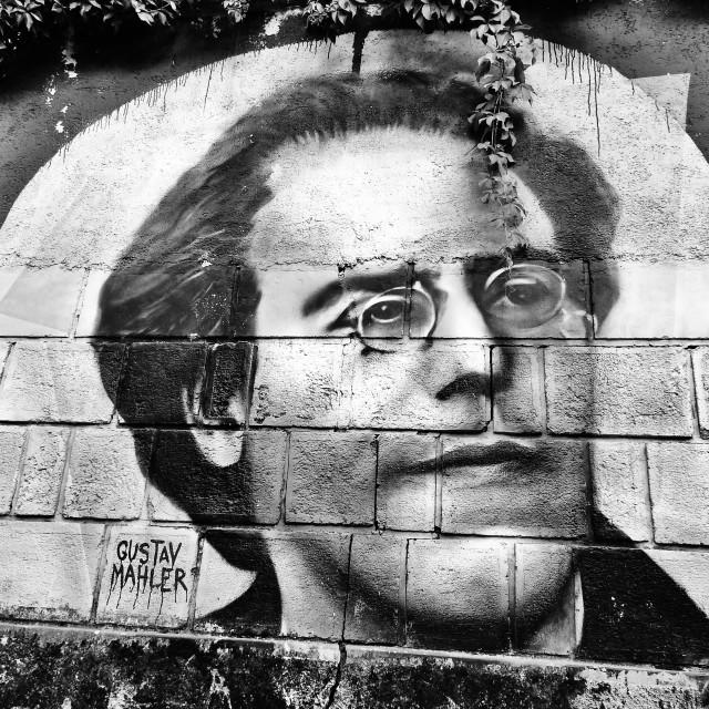 """""""Gustav Mahler"""" stock image"""