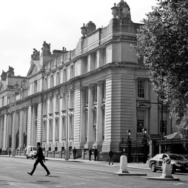 """""""Dublin Street"""" stock image"""