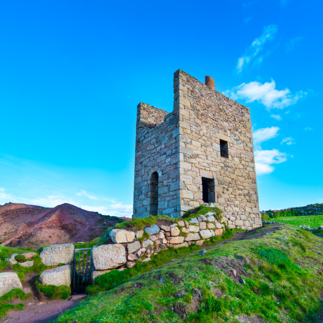 """West Wheal Owles"" stock image"