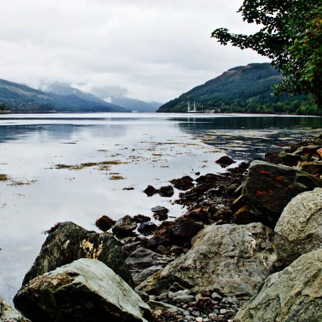 """Loch Long"" stock image"