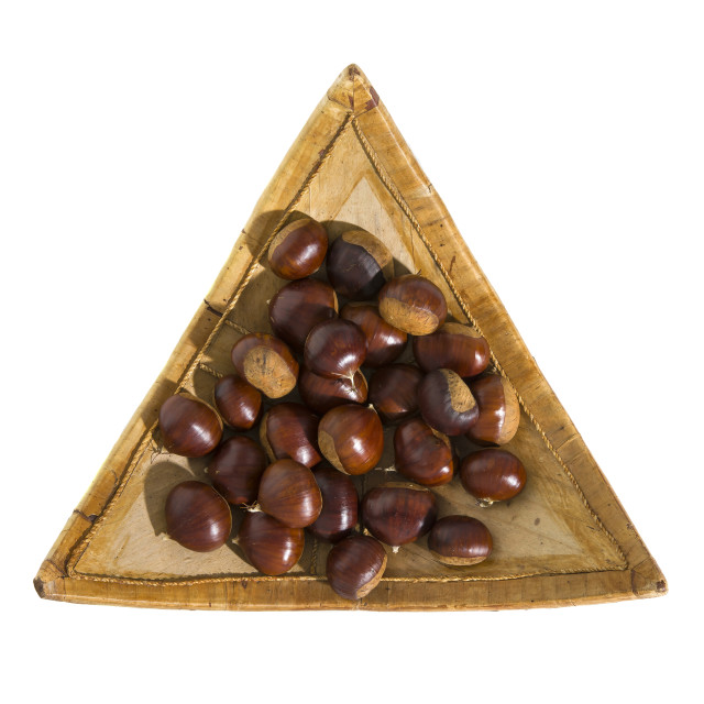 """""""Chestnuts."""" stock image"""