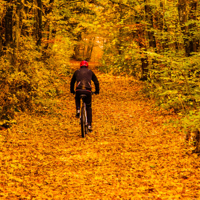 """""""Biking"""" stock image"""