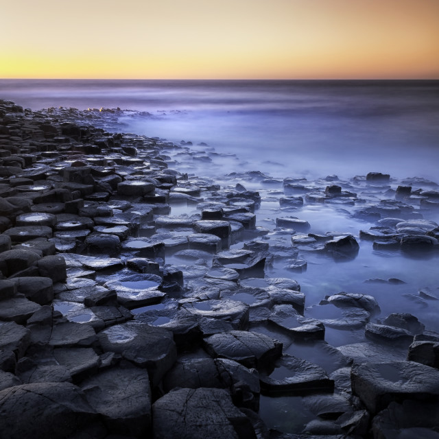 """Giant Causeway"" stock image"
