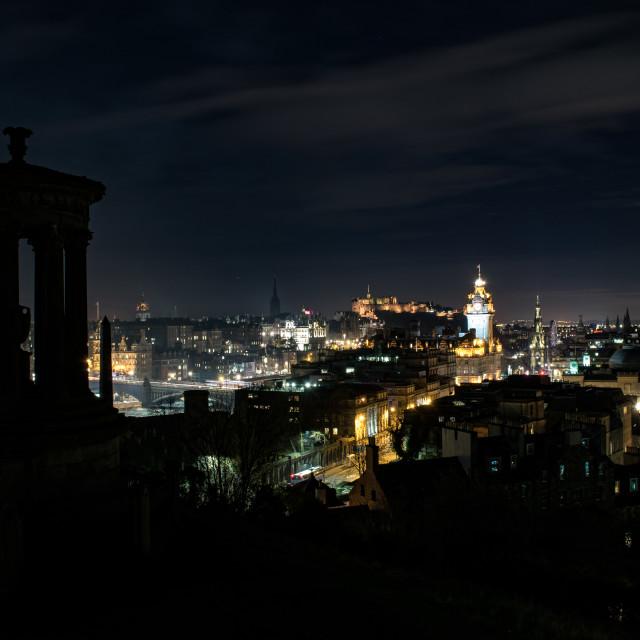 """Edinburgh Spectacular Nights"" stock image"
