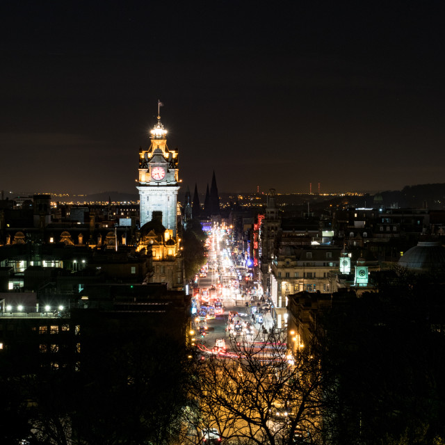 """Edinburgh Alive"" stock image"