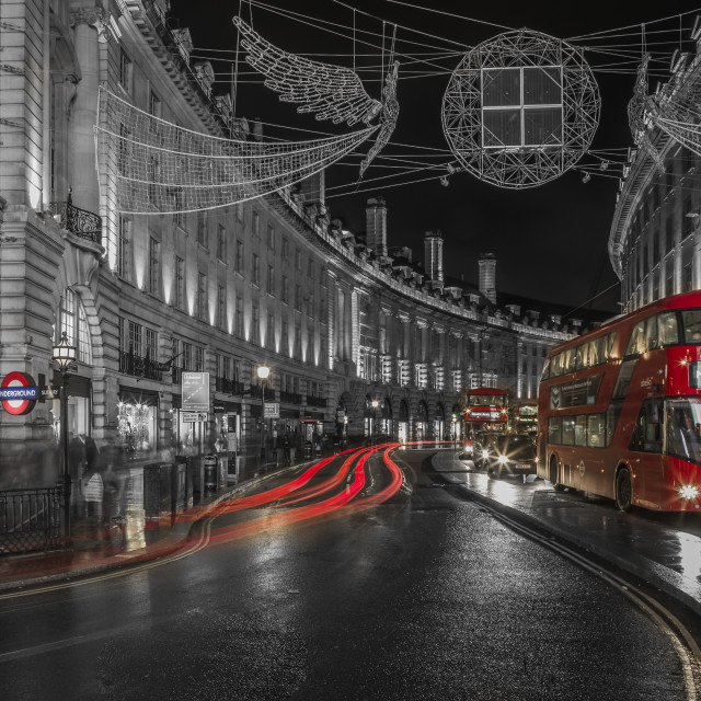 """Red London"" stock image"