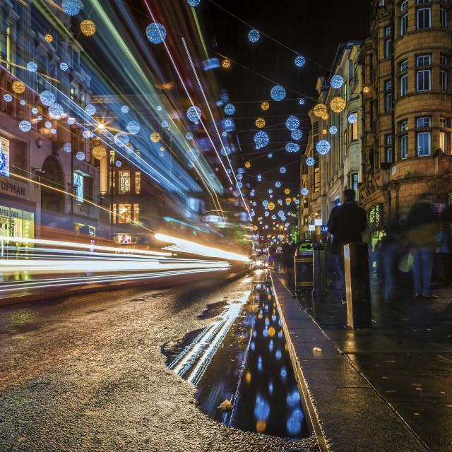 """Bright Lights, Big City"" stock image"