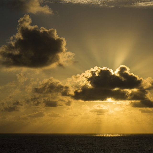 """Caribbean Seascape"" stock image"