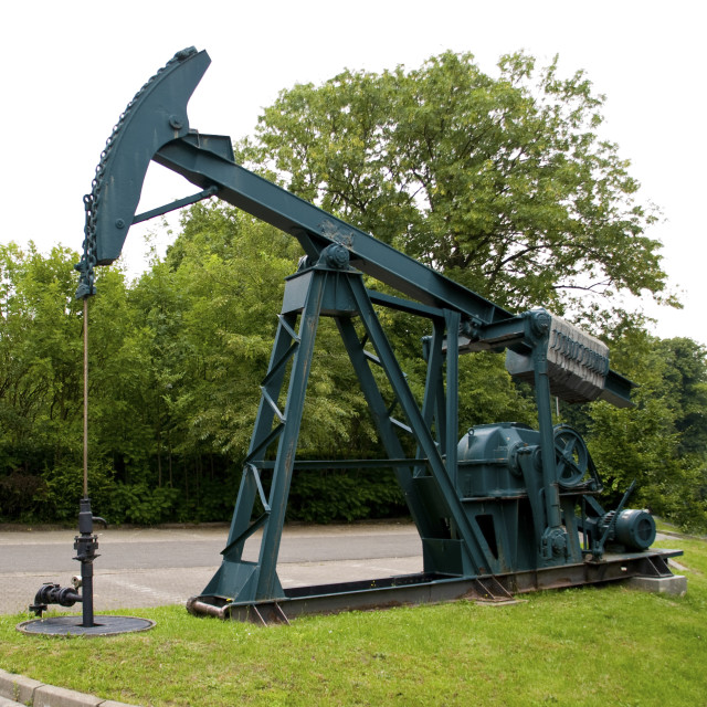 """""""Oil Extraction"""" stock image"""