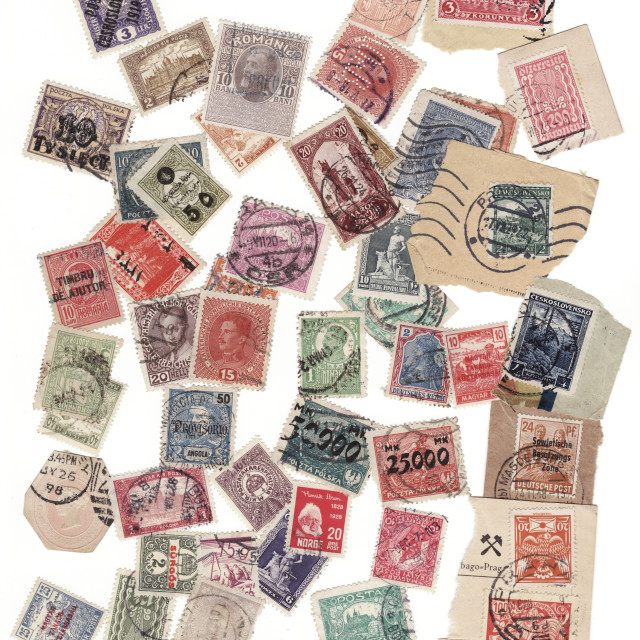 """Stamps"" stock image"