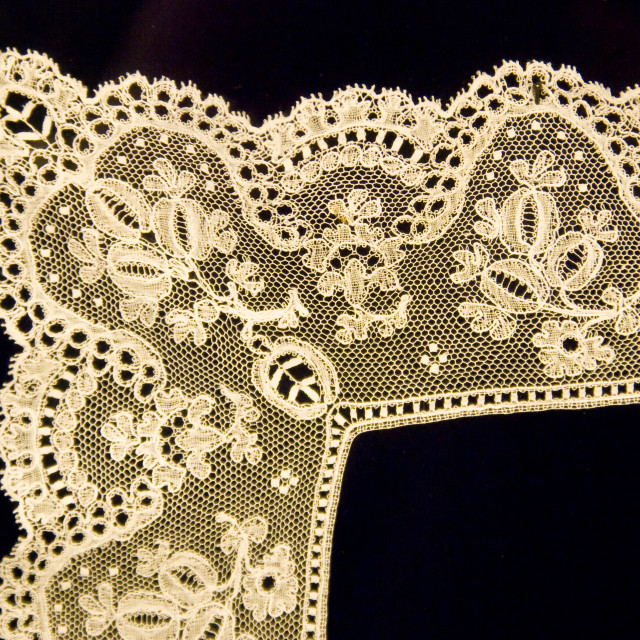 """pillow lace"" stock image"