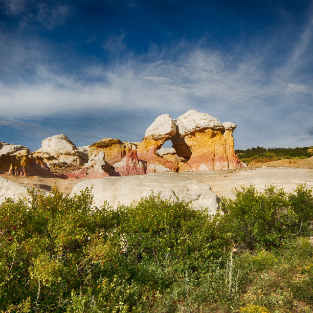 """Indian Paint Mines"" stock image"