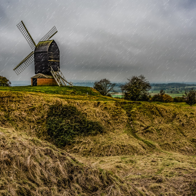 """Brill Windmill"" stock image"