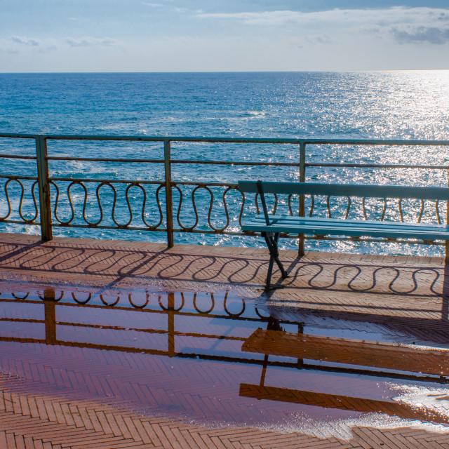 """Sunny Mediterranean Sea"" stock image"