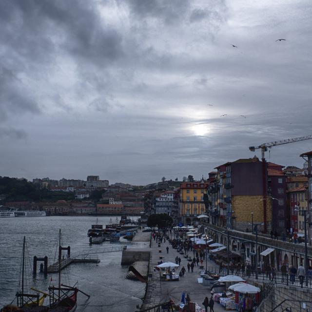 """""""Porto Douro"""" stock image"""