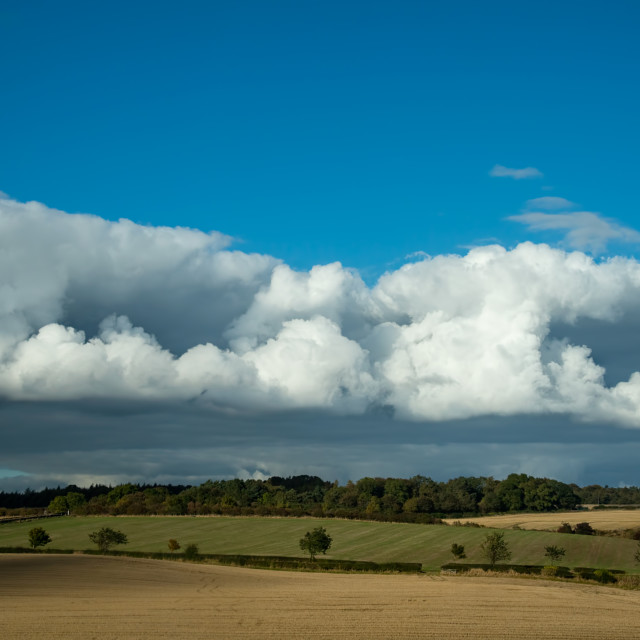 """Awesome Cloud Shapes"" stock image"