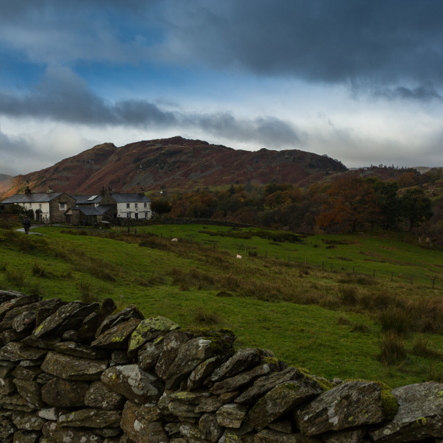 """Early Autumn Lake District Lake District"" stock image"