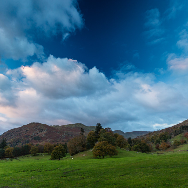 """""""Early Autumn Lake District"""" stock image"""