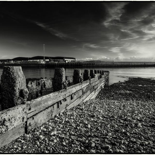 """Shoreham port"" stock image"