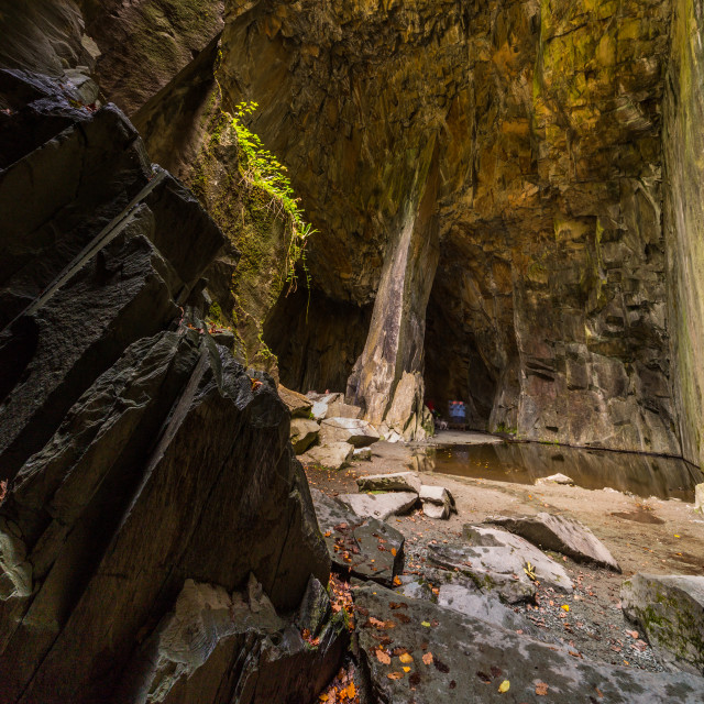 """""""Cathedral Cavern"""" stock image"""