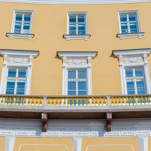 """""""Building around the Palace Square in Saint Petersburg"""" stock image"""