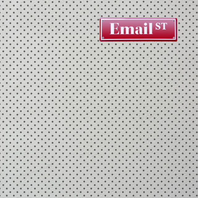 """Email Street"" stock image"