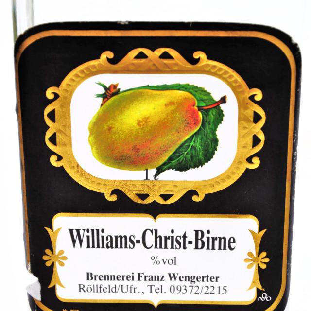 """Birner (Pear) Liquer"" stock image"