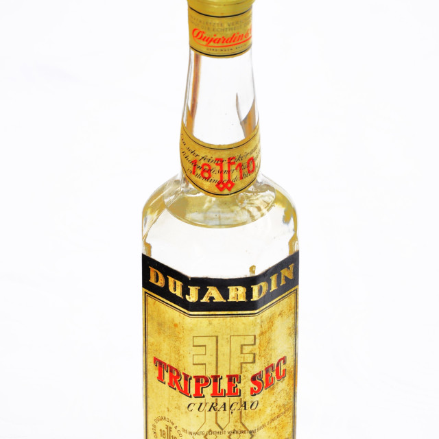 """Dujardin Triple Sec"" stock image"