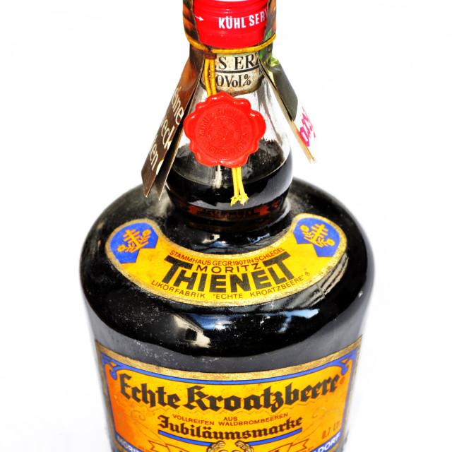 """""""Echte Kroatzbeere"""" stock image"""