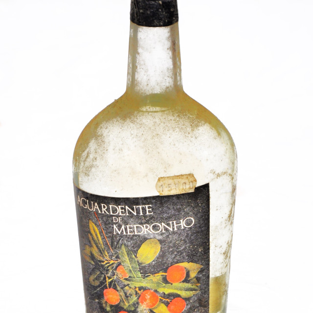 """""""Aguardente de Medronho"""" stock image"""